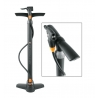 pompe à pied SKS Air X-Press 8.0 Multi-Valve, noir, avec manomètre