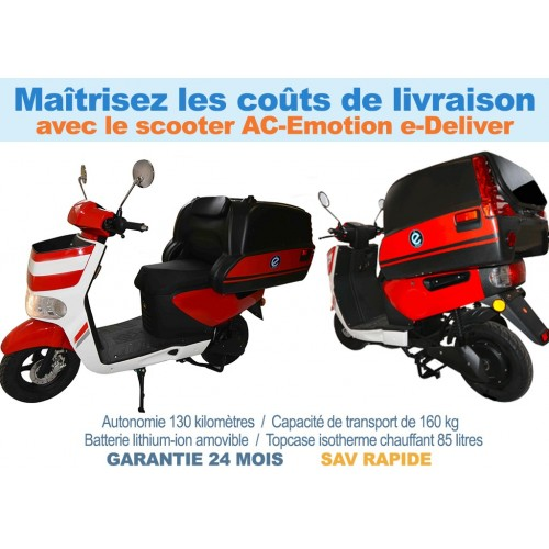 AC-Emotion e-Deliver (scooter électrique pro)