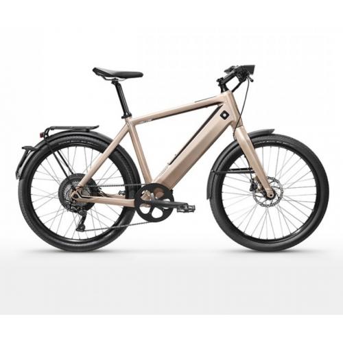 Stromer ST1 X Sport taille M champagne (vélo électrique rapide)