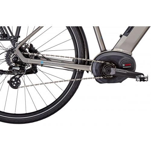 Kalkhoff Endeavour Move 3B (vélo électrique motorisé Bosch) cadre diamant taille 43S gris