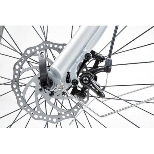BiClou Porteur 26'' - Taille M - Vélo électrique de ville - Gris