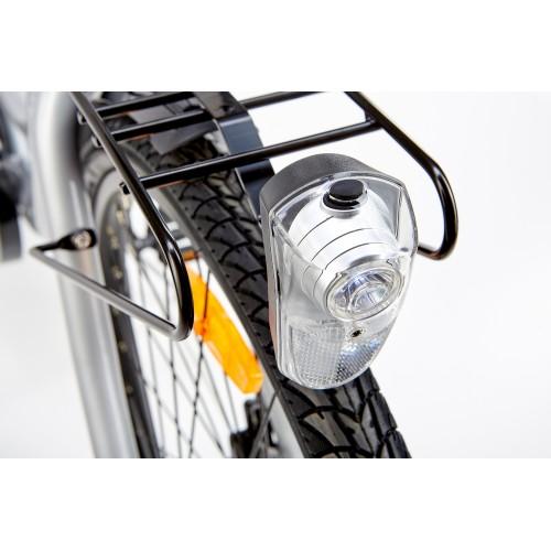 BiClou Porteur 26'' - Taille M - Vélo électrique de ville - Ivoire