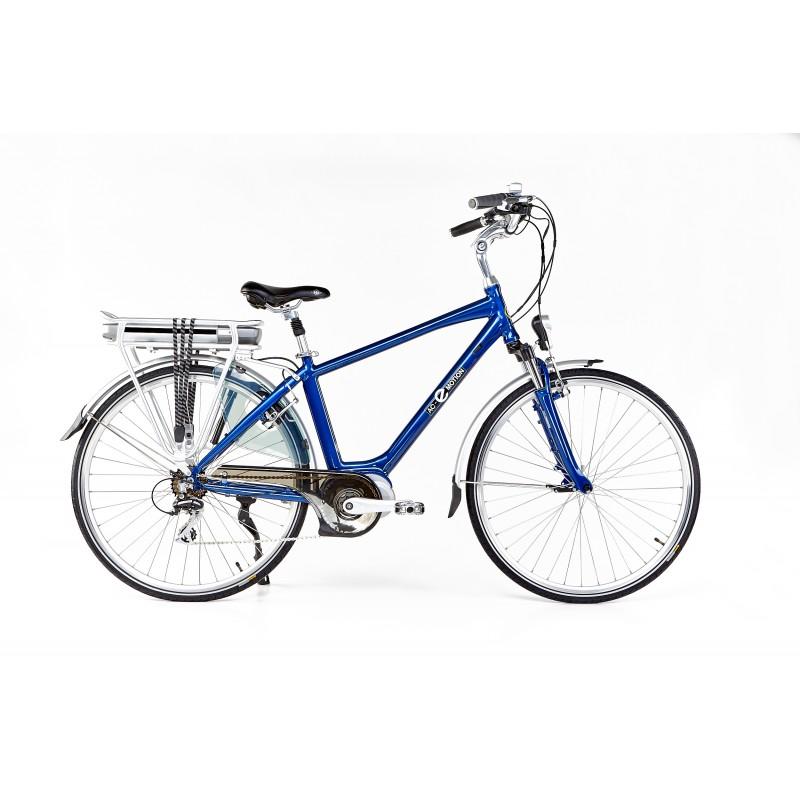 AC-Emotion Touring Bleu 28' - Taille M - Vélo électrique à moteur pédalier