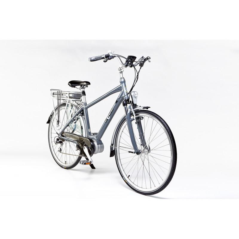 AC-Emotion Touring Gris 28' - Taille M - Vélo électrique à moteur pédalier