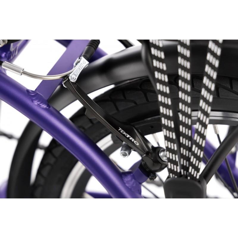 CycleDenis Fold V Violet - Vélo électrique à pliage rapide en 10 secondes disponible chez Ac-Emotion