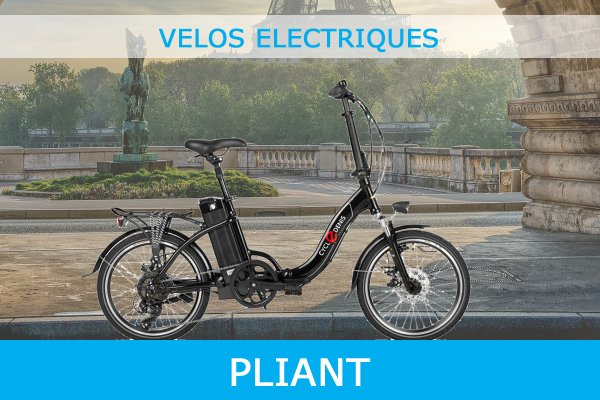 Velo Electrique Pliant Avec Certificat de Conformite CycleDenis Ac-Emotion