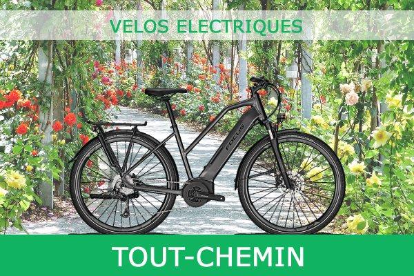 Velo Electrique Tout Chemin Avec Certificat de Conformite CycleDenis Ac-Emotion